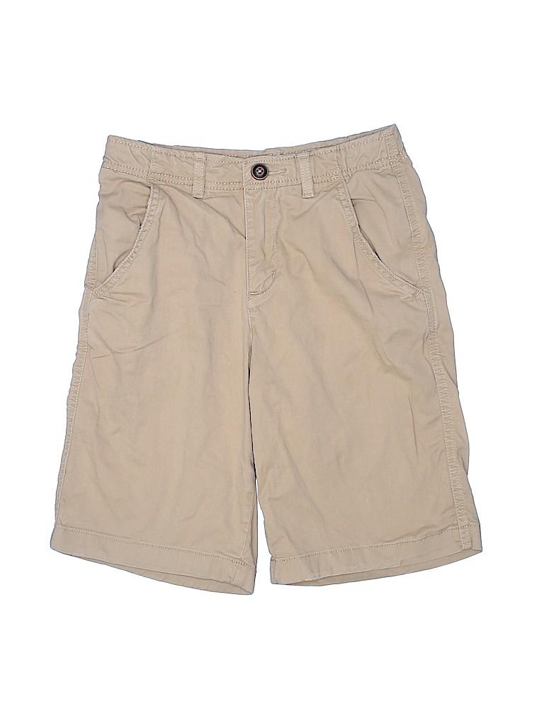 True Craft Boys Khaki Shorts Size 14