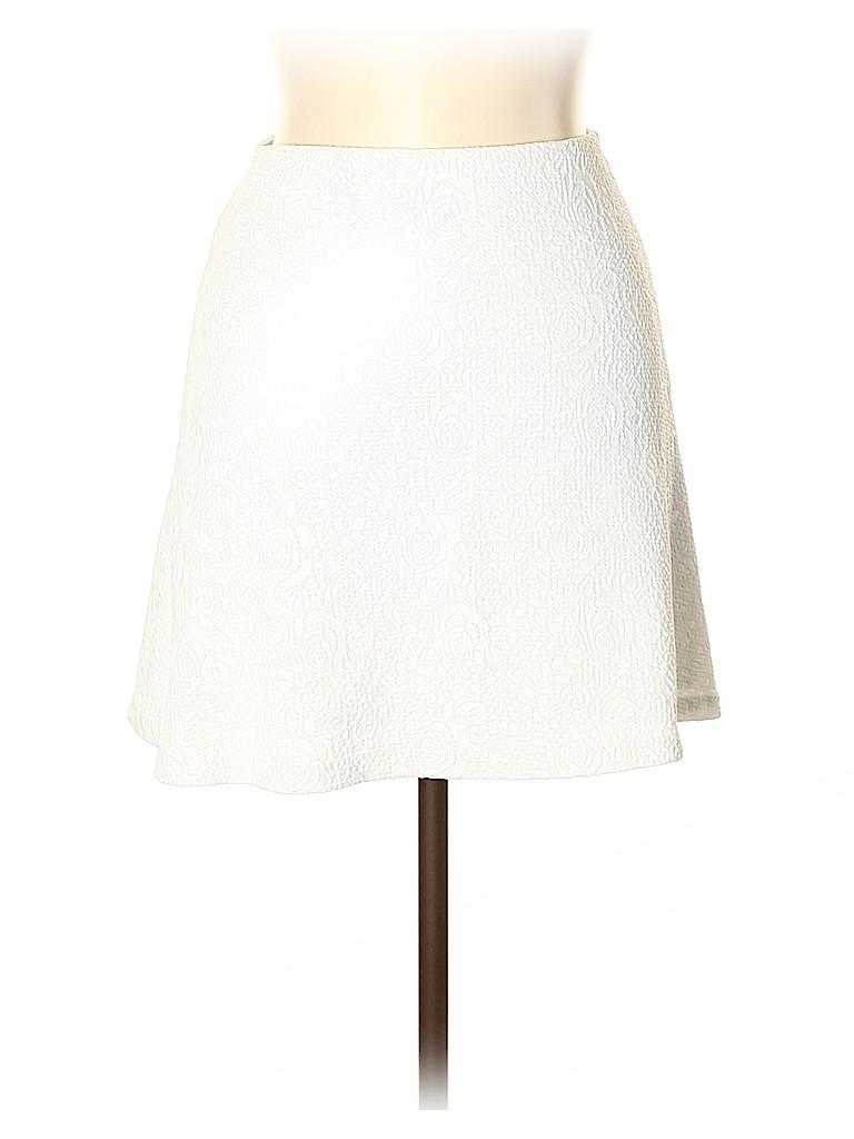 Aqua Women Casual Skirt Size M