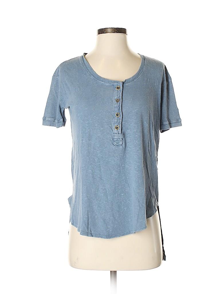 Free People Women Short Sleeve T-Shirt Size XS