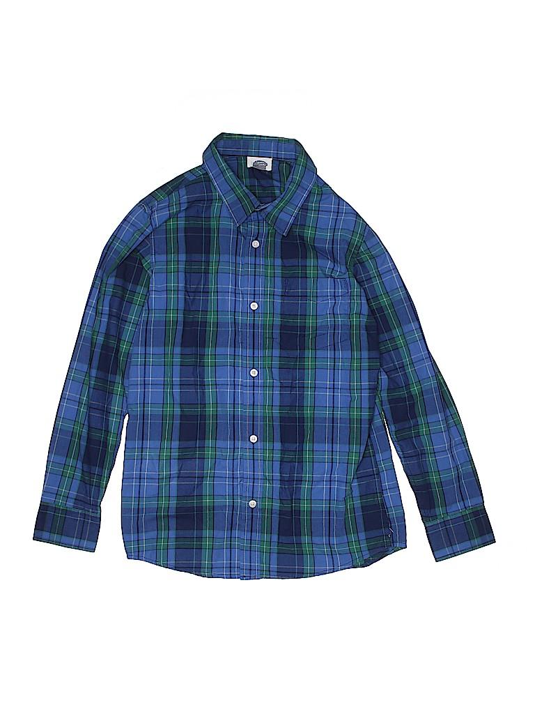 Nike Boys Long Sleeve Button-Down Shirt Size 14 - 16