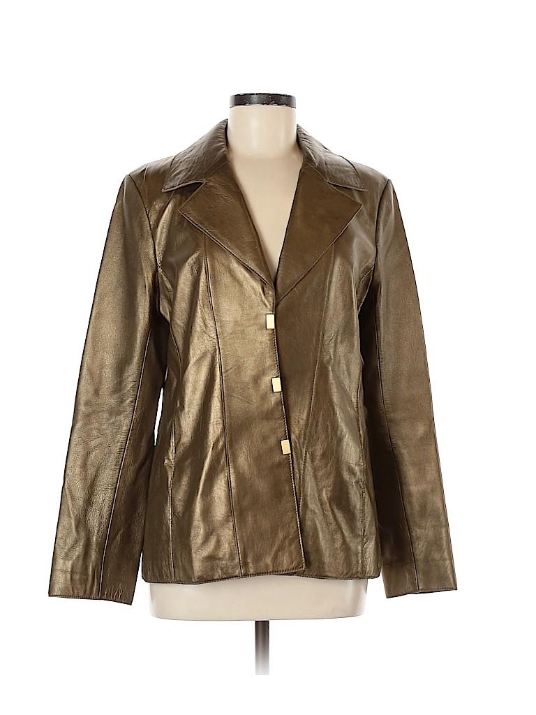 Doncaster Women Leather Jacket Size 8