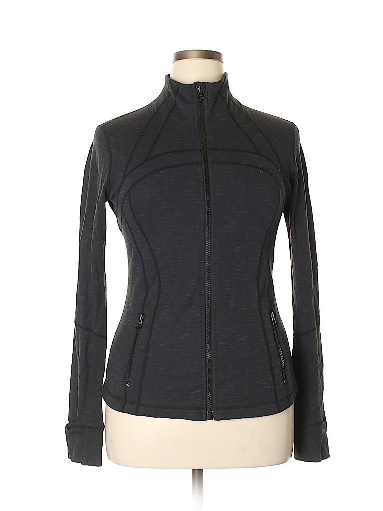 Lululemon Athletica Women Track Jacket Size 12