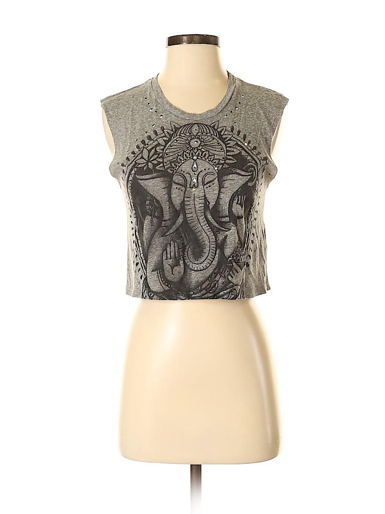 Title Unknown Women Sleeveless T-Shirt Size XS