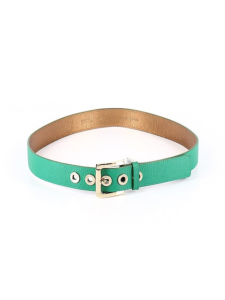 MICHAEL Michael Kors Women Leather Belt Size M