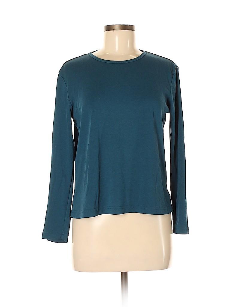 Gloria Vanderbilt Women 3/4 Sleeve T-Shirt Size M