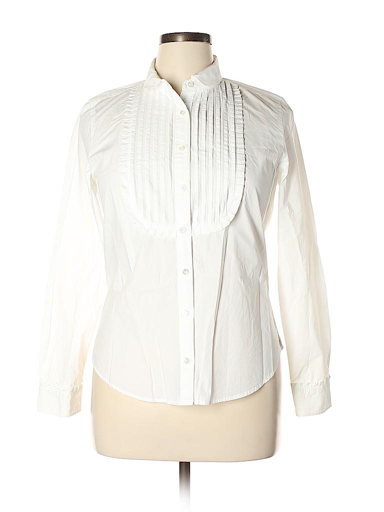 J. Crew Women Long Sleeve Button-Down Shirt Size 12