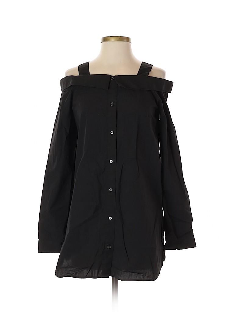 Robert Rodriguez Women Long Sleeve Button-Down Shirt Size 2