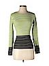 W by Worth Women Long Sleeve Silk Top Size S