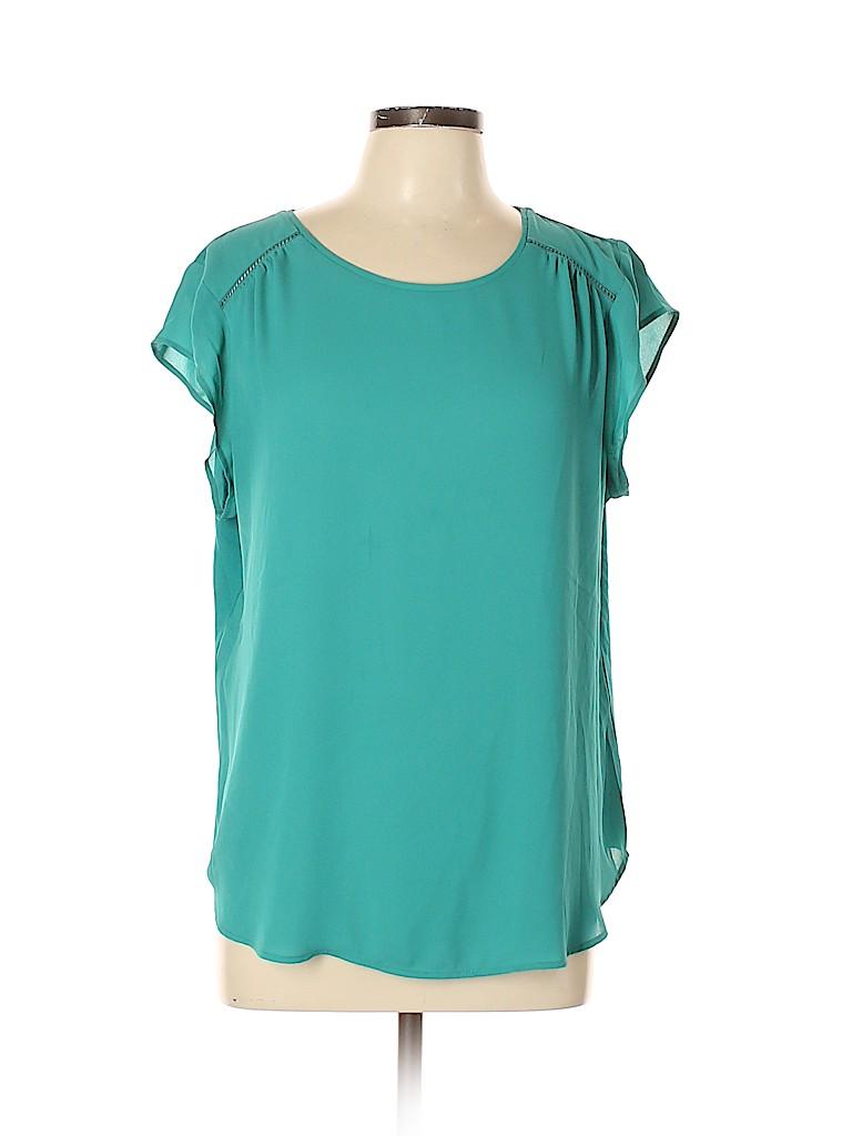 Van Heusen Women Short Sleeve Blouse Size XL