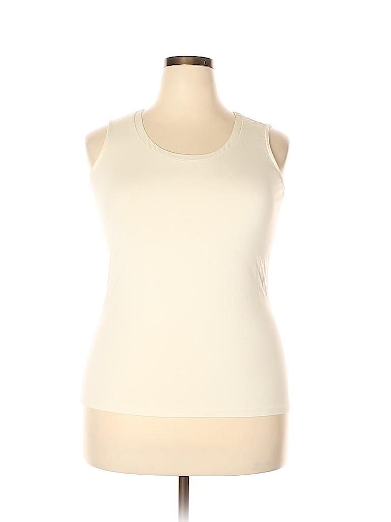 Talbots Women Sleeveless Top Size 0X (Plus)