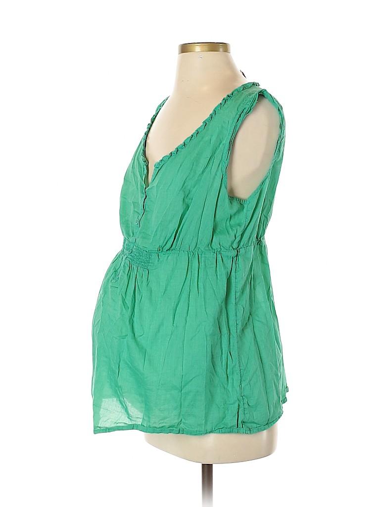 Old Navy - Maternity Women Sleeveless Blouse Size M (Maternity)