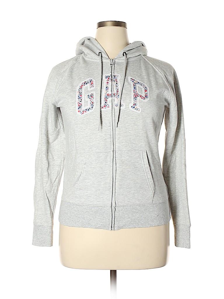 Gap Outlet Women Zip Up Hoodie Size L