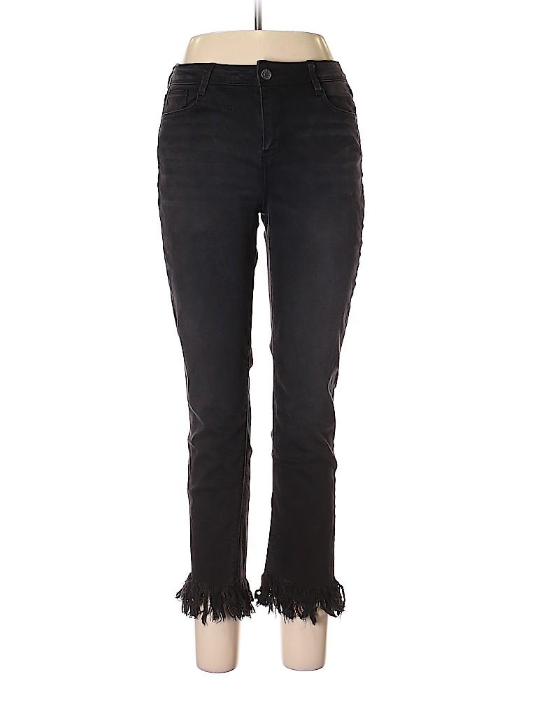 Black Daisy Women Jeggings Size 11