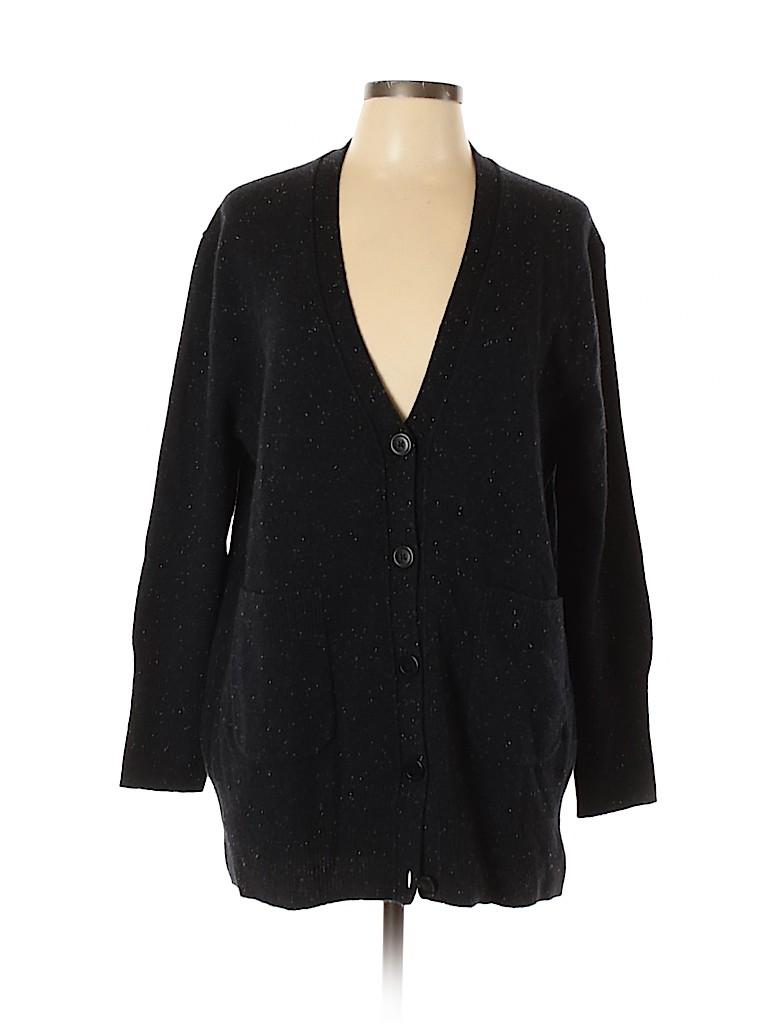 J. Crew Women Wool Cardigan Size L