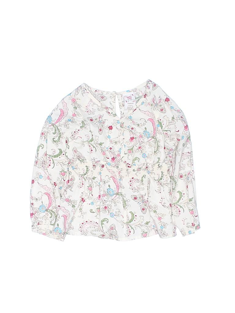 Baby Gap Girls Long Sleeve Blouse Size 2
