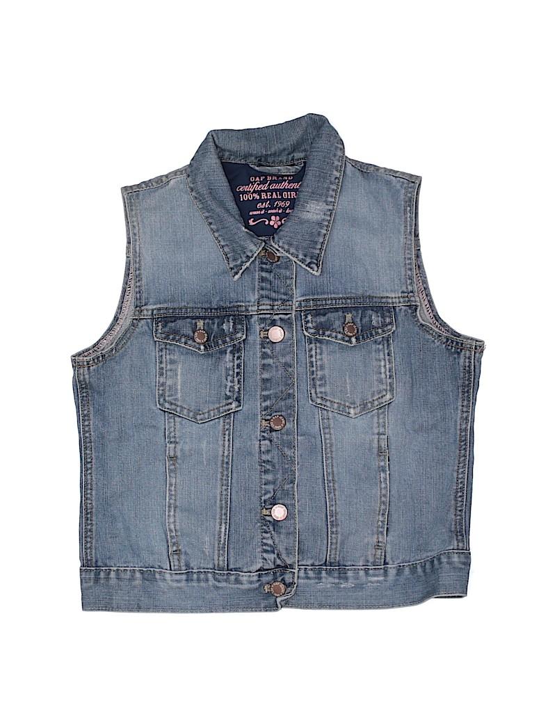 Gap Girls Denim Vest Size 14/16