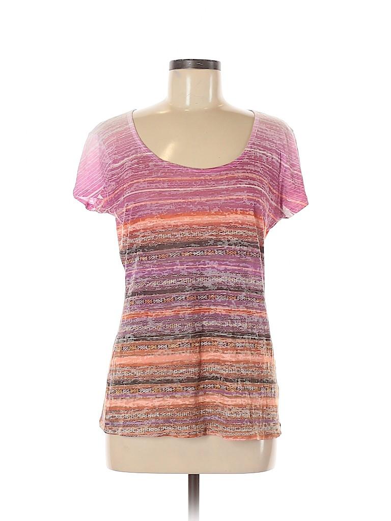 PrAna Women Short Sleeve T-Shirt Size L