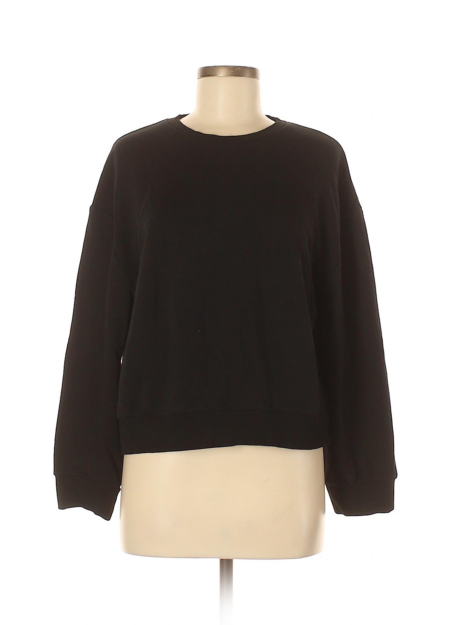 c81361e253 Details about Zara Trf Women Black Sweatshirt Med
