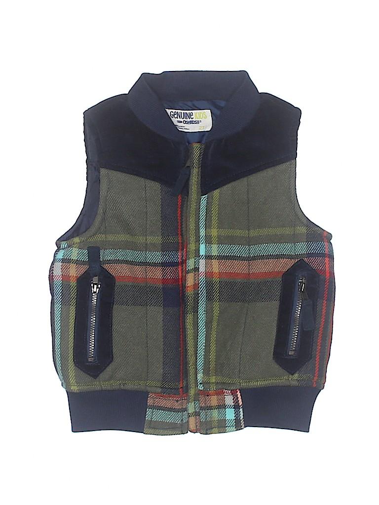 Genuine Kids from Oshkosh Boys Vest Size 2T
