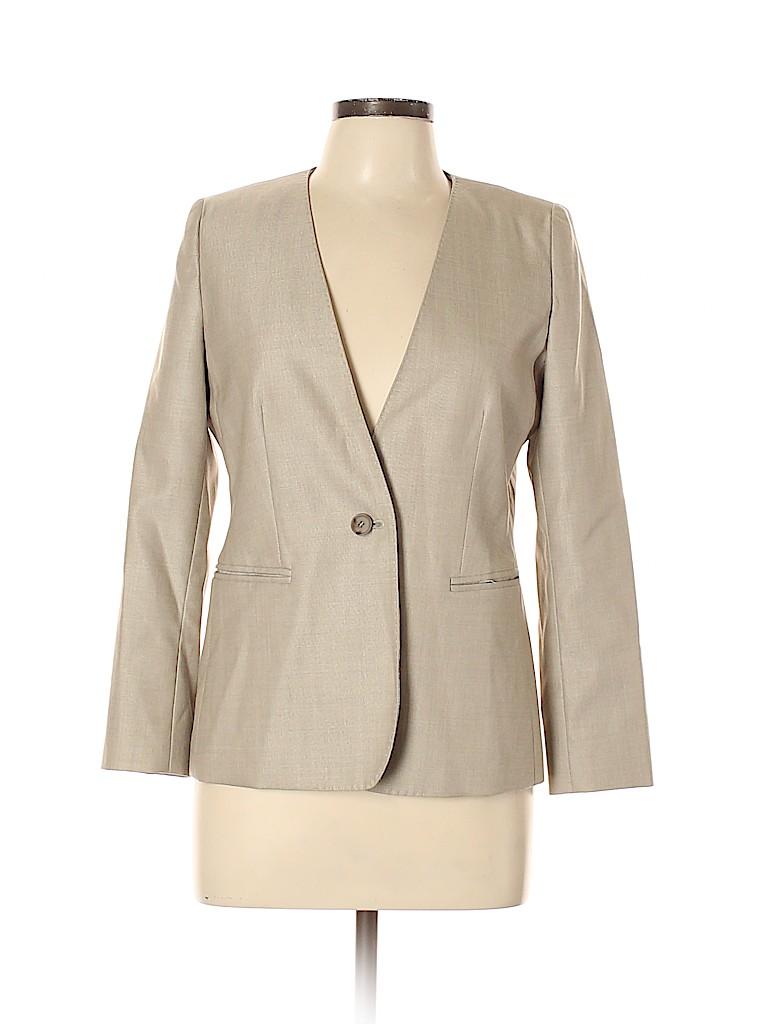 Max Mara Women Wool Blazer Size 10