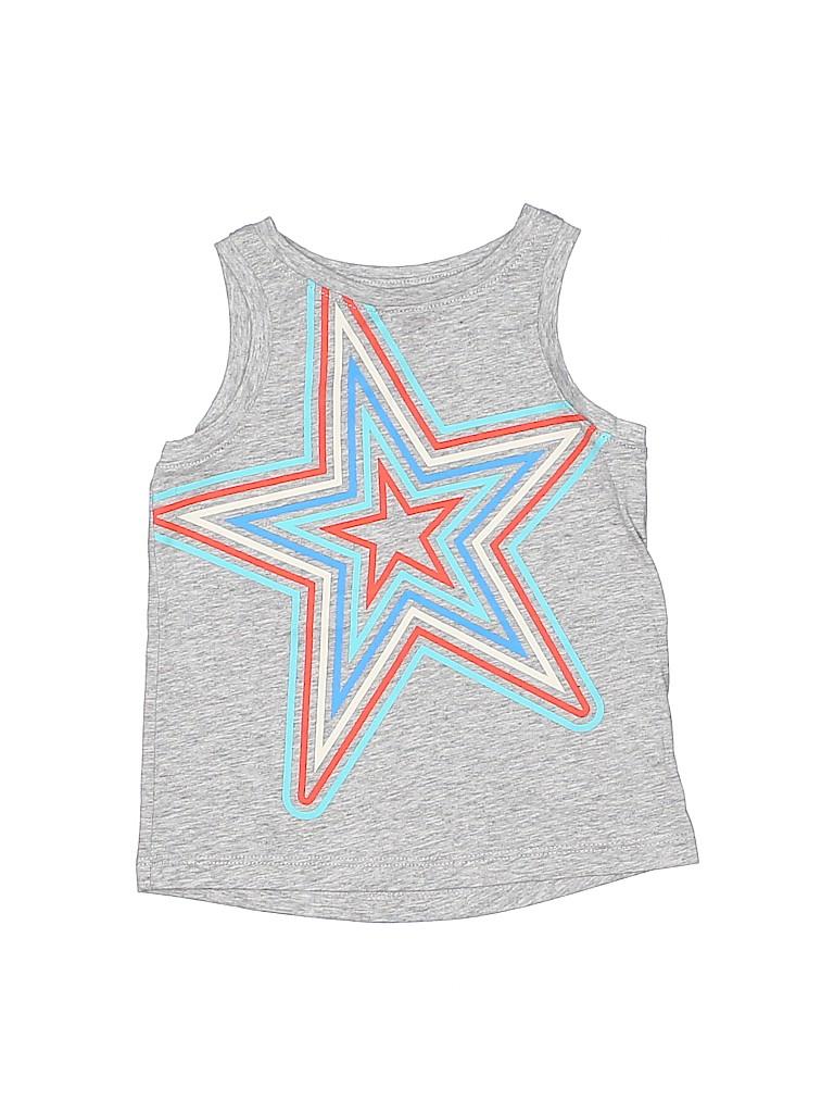 Cat & Jack Girls Sleeveless T-Shirt Size 2T