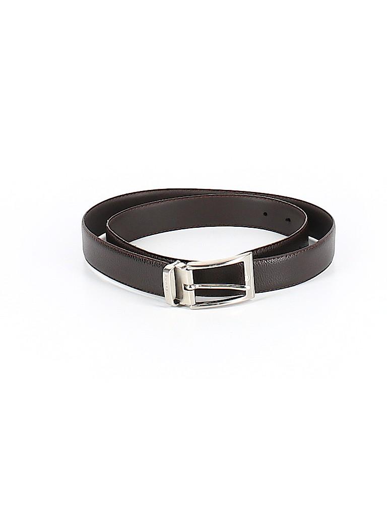Burberry Women Leather Belt Size 42 (IT)