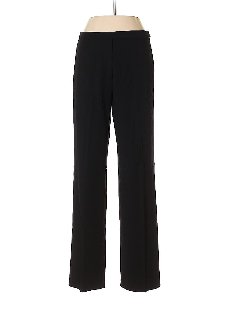 Emporio Armani Women Wool Pants Size 44 (EU)