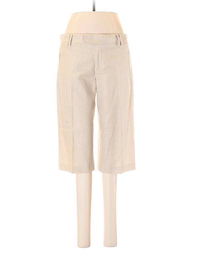 Catherine Malandrino Women Linen Pants Size 6