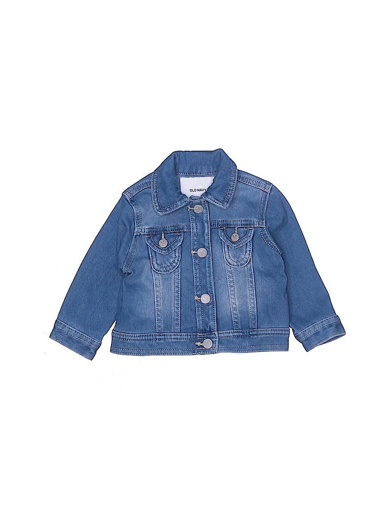 Old Navy Girls Denim Jacket Size 6-12 mo