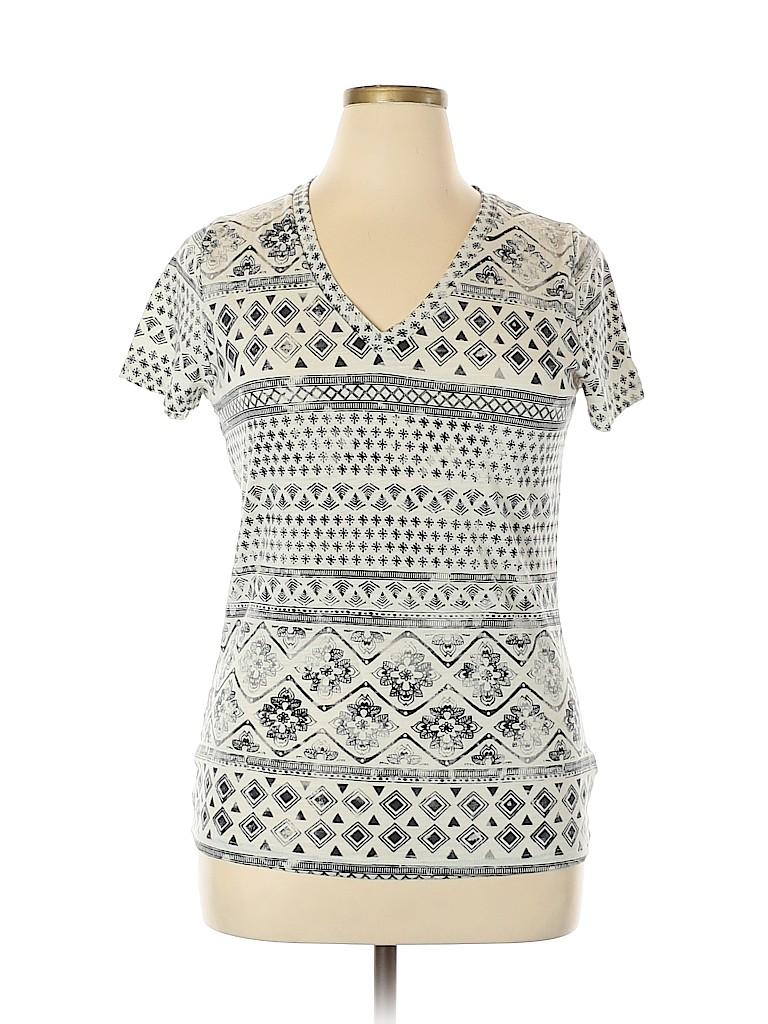 Mossimo Women Short Sleeve T-Shirt Size XL