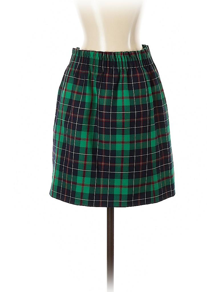 J. Crew Women Wool Skirt Size 2