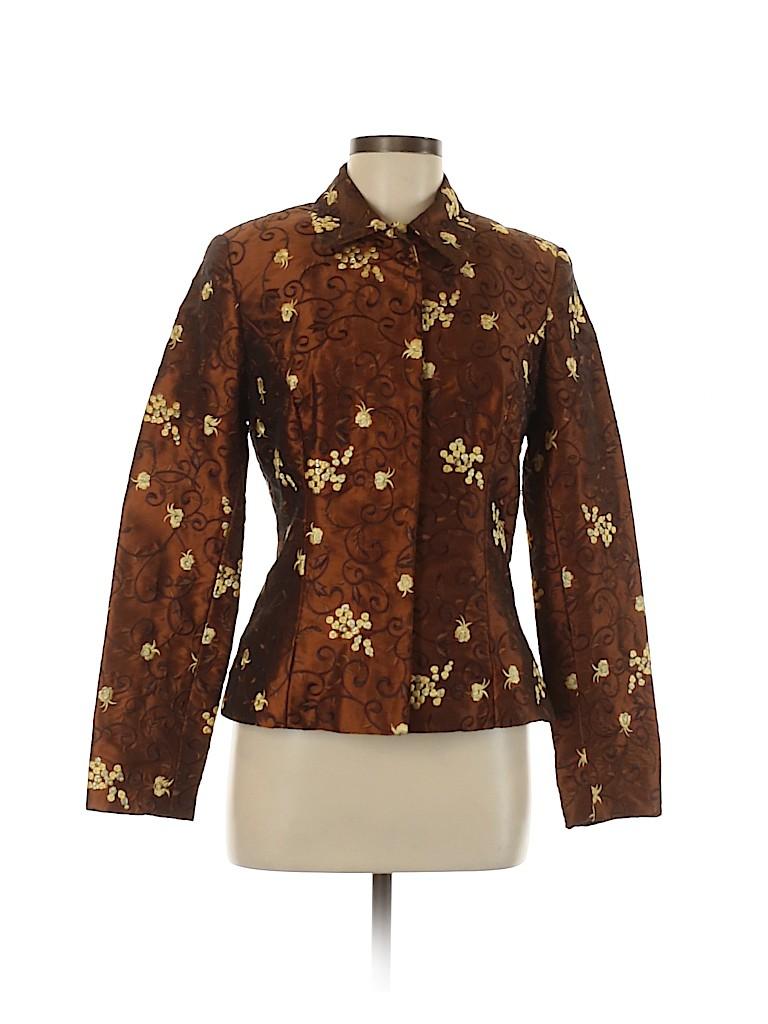 Etcetera Women Silk Blazer Size 6