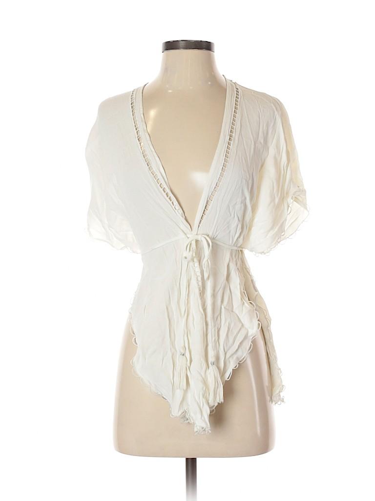 Lost & wander Women Short Sleeve Blouse Size S
