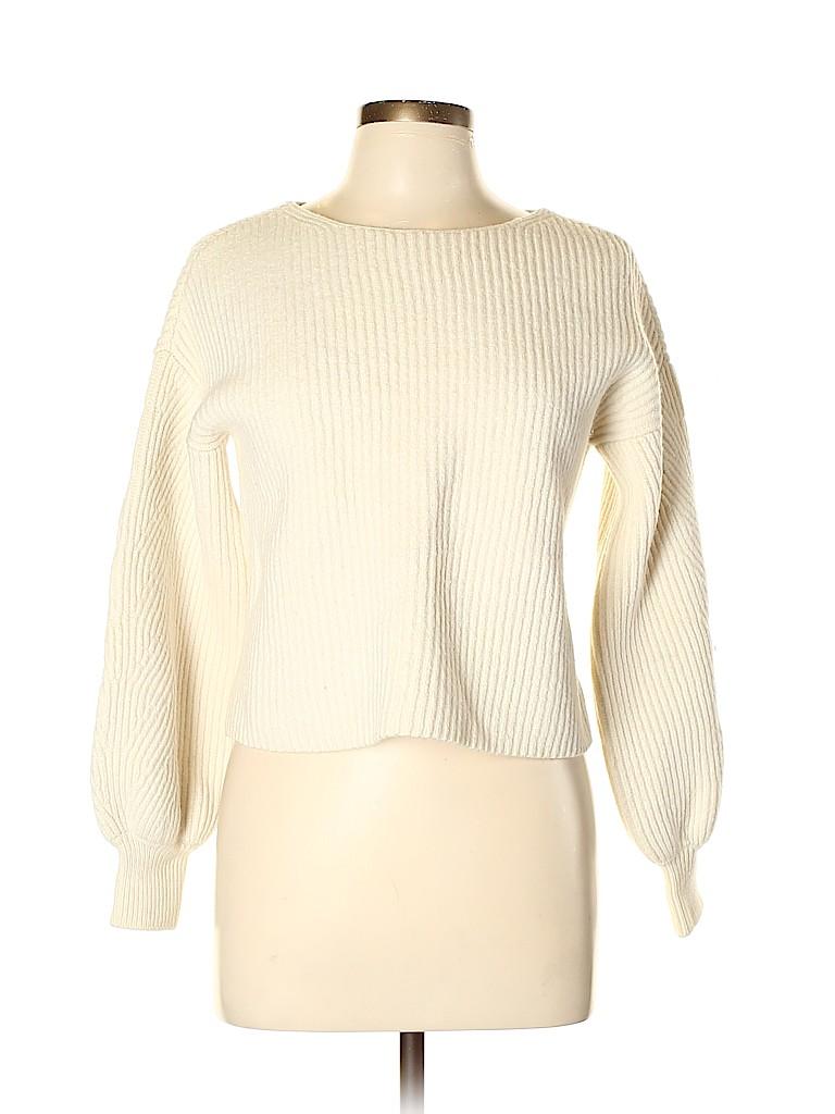 Intermix Women Wool Pullover Sweater Size M