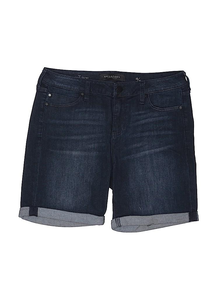 Liverpool Jeans Company Women Denim Shorts Size 10