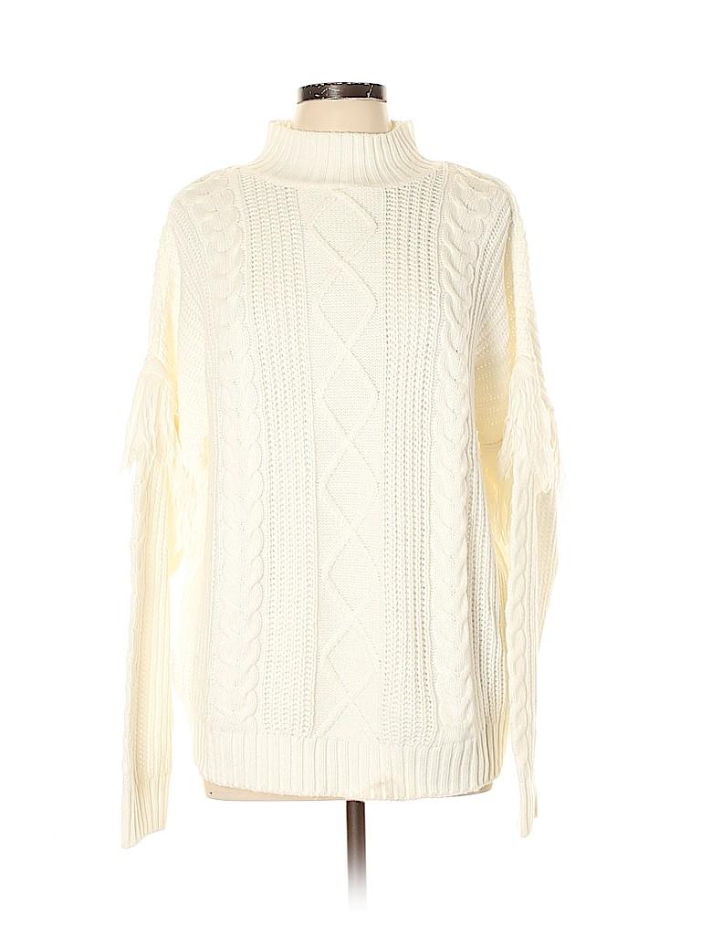 Aqua Women Pullover Sweater Size L