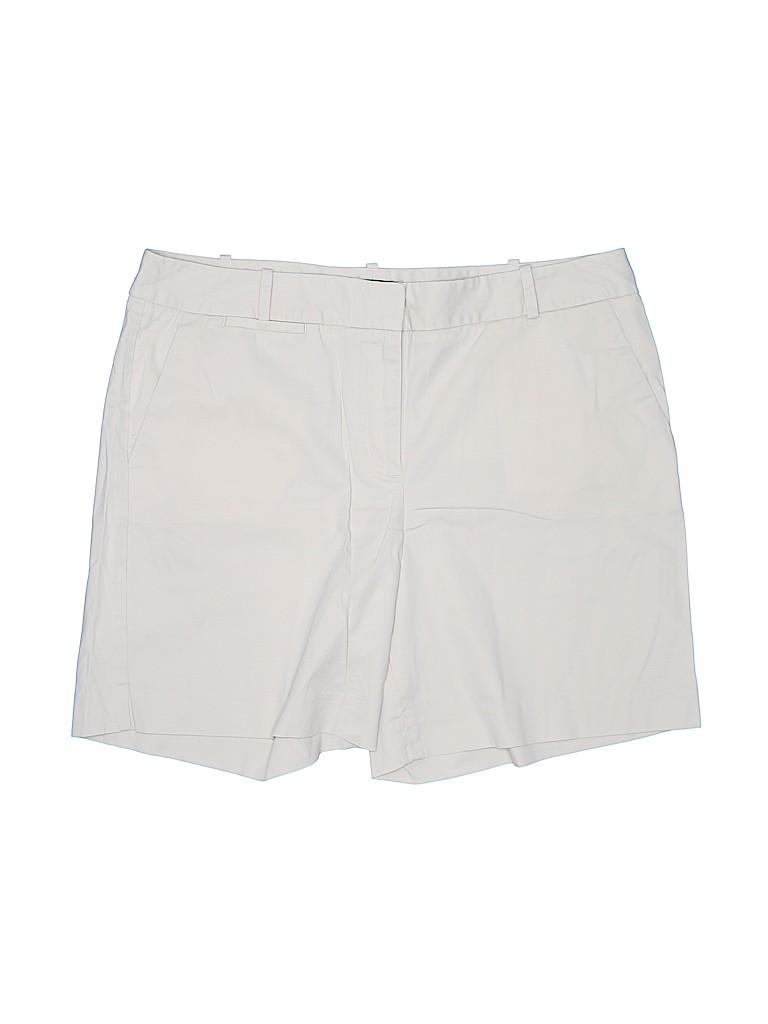 Talbots Women Khaki Shorts Size 14