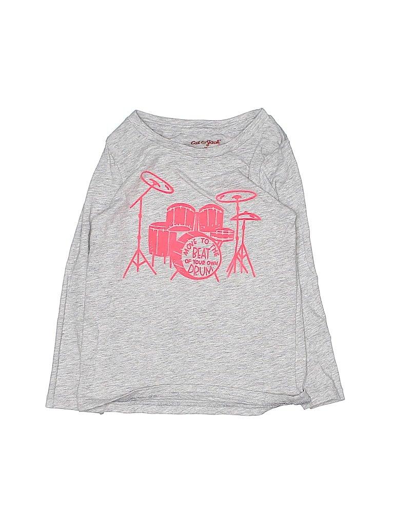 Cat & Jack Girls Long Sleeve T-Shirt Size 3T