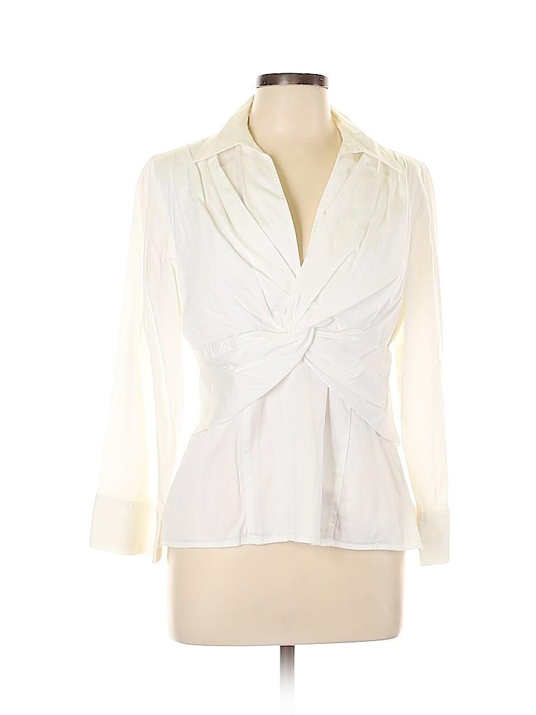 Jones New York Signature Women Long Sleeve Blouse Size L