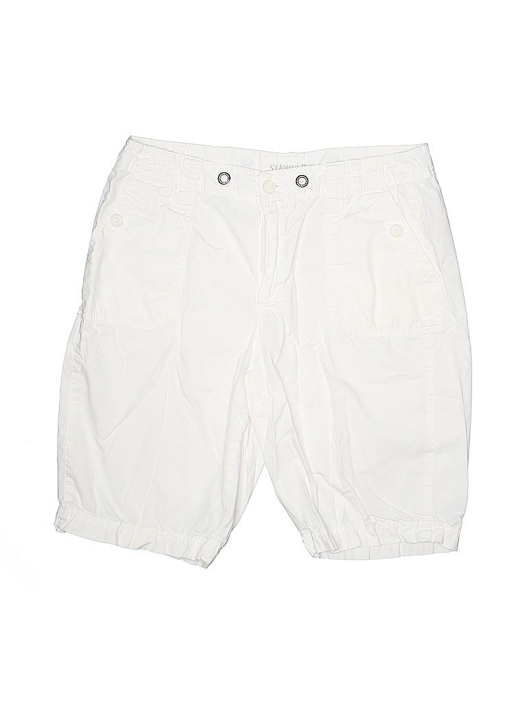 St. John's Bay Women Khaki Shorts Size 12