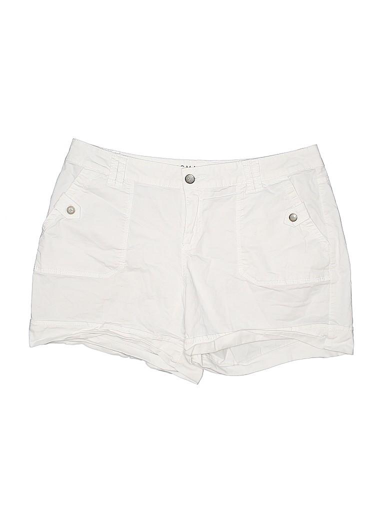 SONOMA life + style Women Khaki Shorts Size 16