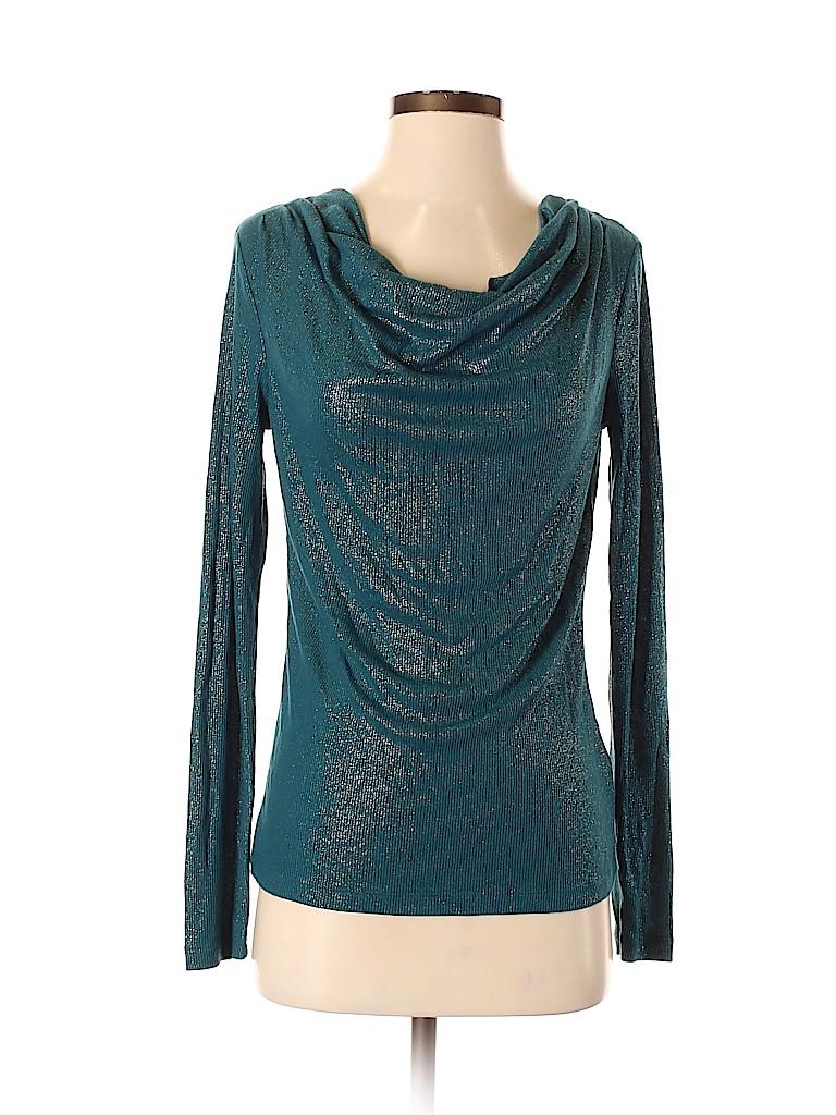 Jones New York Signature Women Long Sleeve Blouse Size S
