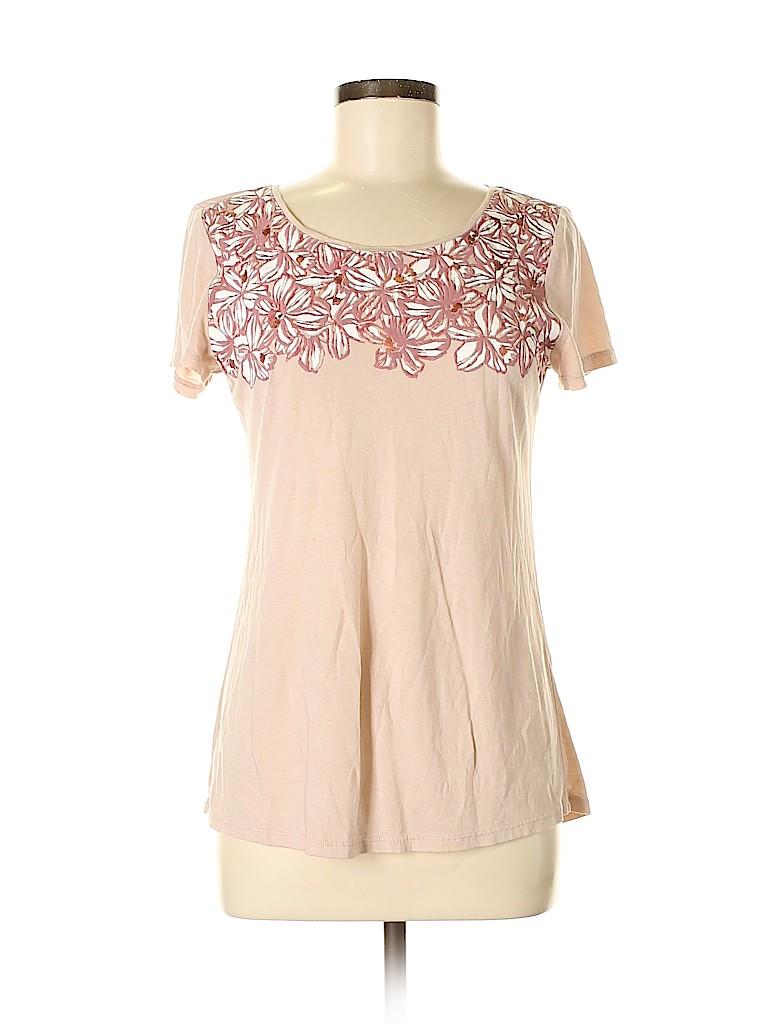 Ann Taylor Factory Women Short Sleeve T-Shirt Size S
