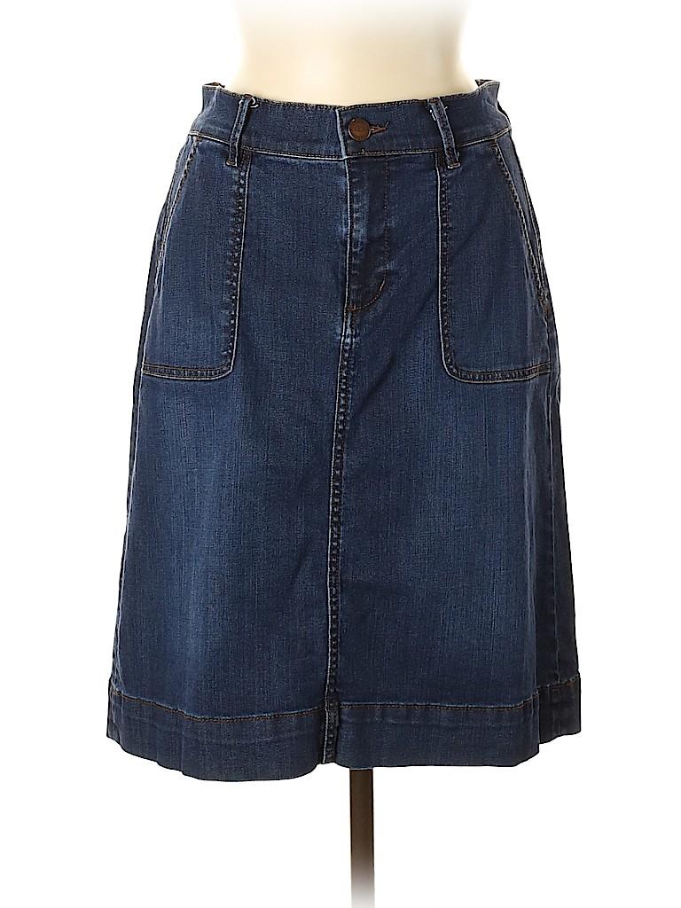 Ann Taylor LOFT Women Denim Skirt Size 8