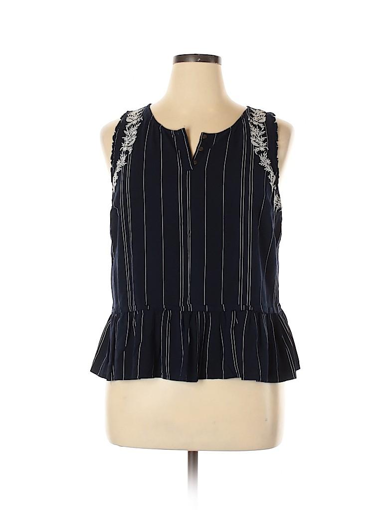 Kohl's Women Sleeveless Blouse Size XL