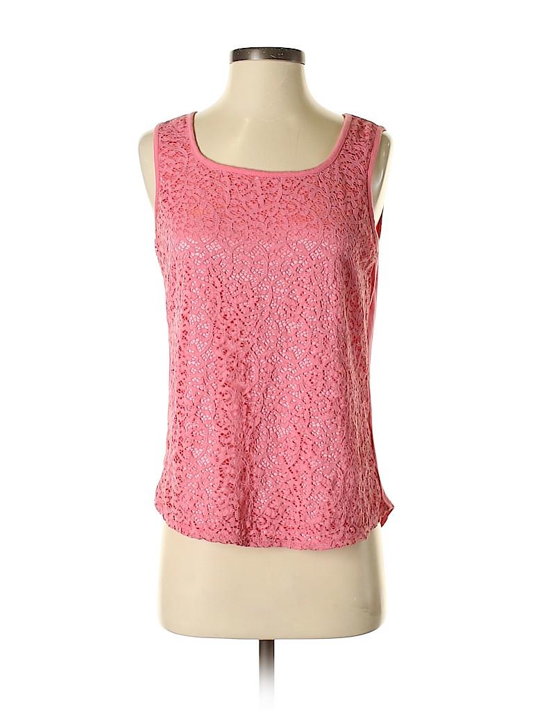 Peter Nygard Women Sleeveless Blouse Size S