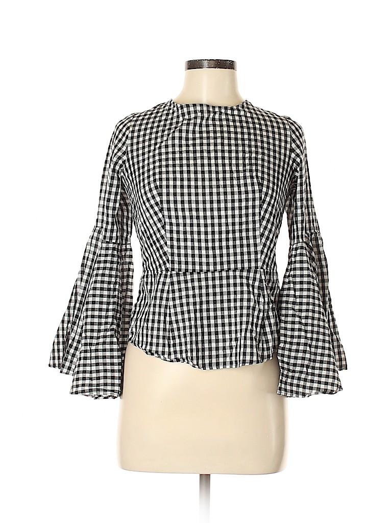 NANETTE Nanette Lepore Women Long Sleeve Blouse Size S