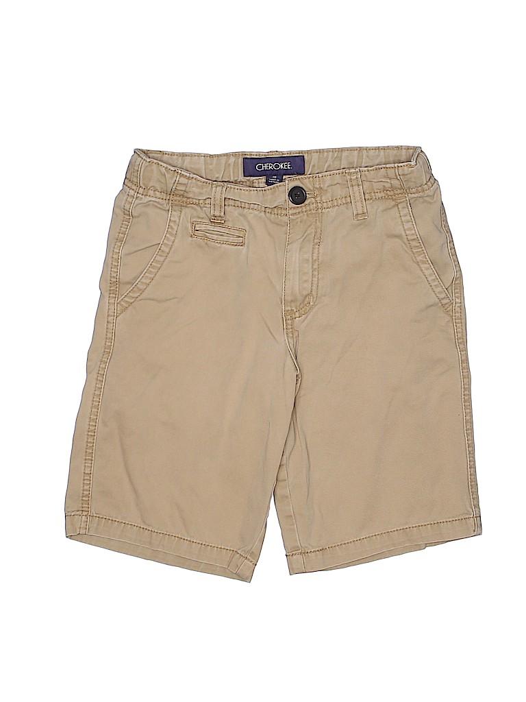 Cherokee Boys Khaki Shorts Size 10