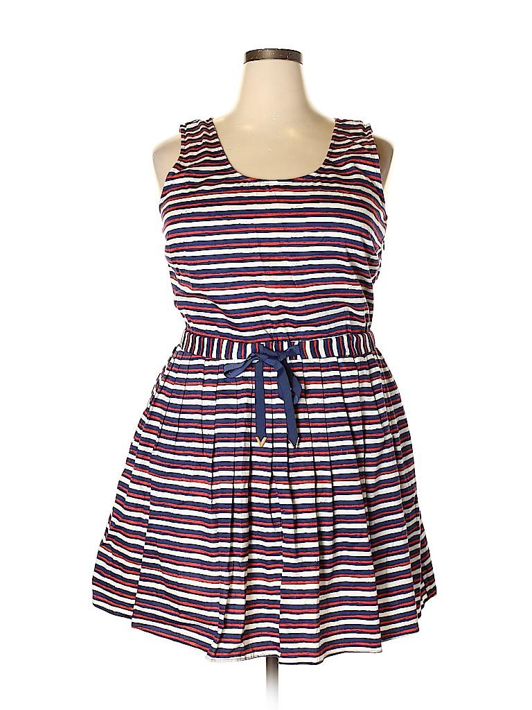 Maison Jules Women Casual Dress Size XXL