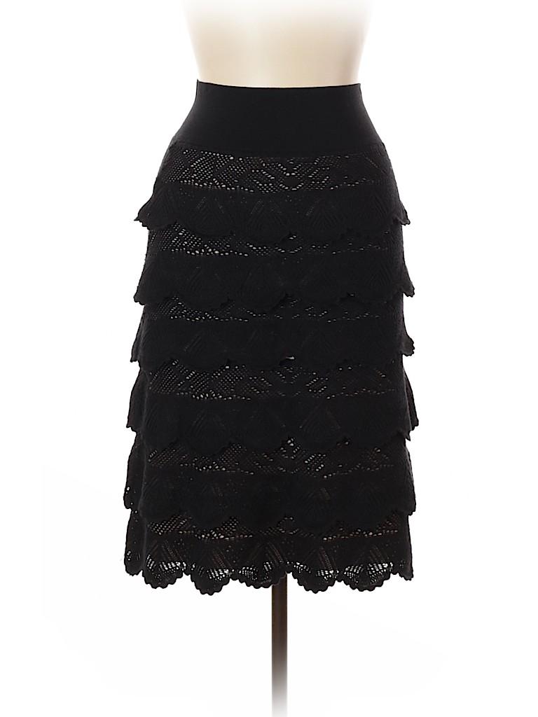 Salvatore Ferragamo Women Wool Skirt Size L